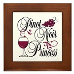 Pinot Noir Princess Framed Tile