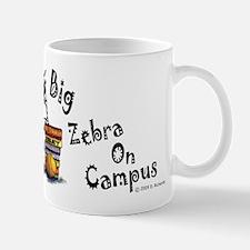 Big Zebra On Campus Mug