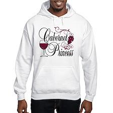 Cabernet Wine Princess Hoodie