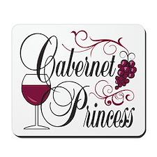 Cabernet Wine Princess Mousepad