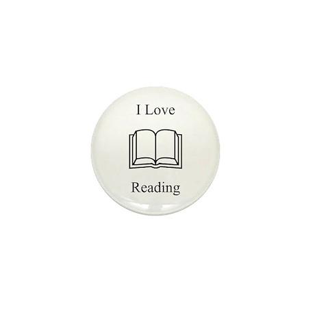 I Love Reading Mini Button (10 pack)