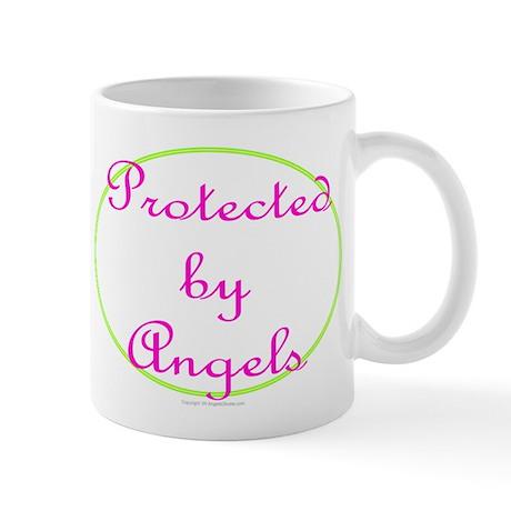 Protected By Angels Coffee Mug