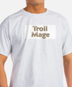 Troll Mage Ash Grey T-Shirt