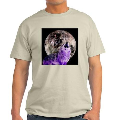 Three Moon Wolf Light T-Shirt