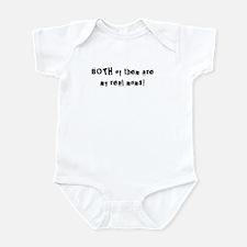 Both My Real Moms! Infant Bodysuit