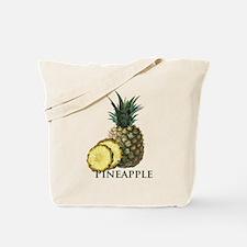 Tropical Pineapple Tote Bag