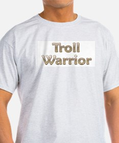 Troll Warrior Ash Grey T-Shirt