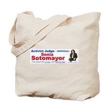 Sonia Sotomayor Activist Judge Tote Bag