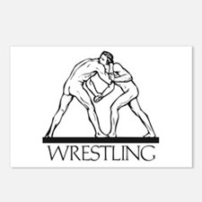 Ancient Greco Roman Wrestling Postcards (Package o