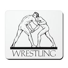Ancient Greco Roman Wrestling Mousepad