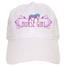 Horse Girl Baseball Cap