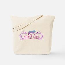 Horse Girl Tote Bag