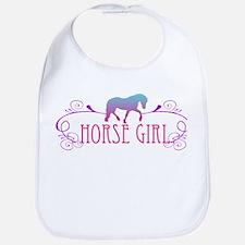 Horse Girl Bib