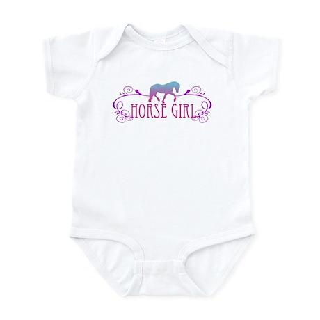 Horse Girl Infant Bodysuit