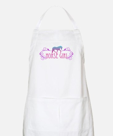 Horse Girl BBQ Apron