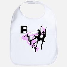 Silhouette Ballet Bib