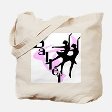 Silhouette Ballet Tote Bag