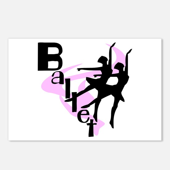 Silhouette Ballet Postcards (Package of 8)