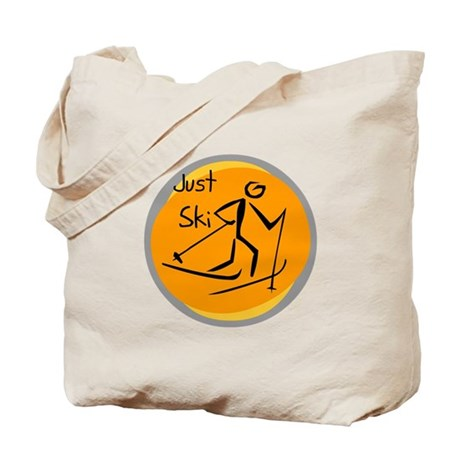 Just Ski Tote Bag