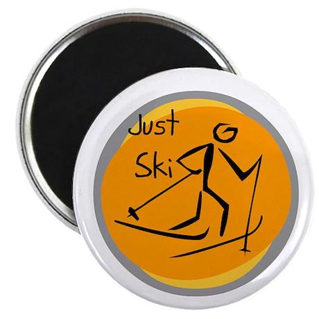 """Just Ski 2.25"""" Magnet (100 pack)"""