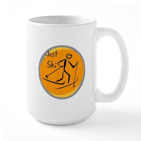 Just Ski Large Mug