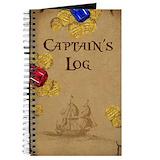 Captains log Journals & Spiral Notebooks