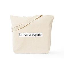 Camisetas Se Habla Español Tote Bag
