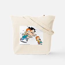 Cool Baby blues comic Tote Bag