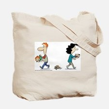 Funny Baby blues comic Tote Bag