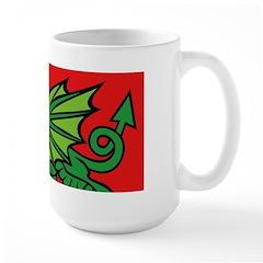Midrealm Dragon Red Mug