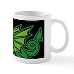 Midrealm Dragon Black Mug