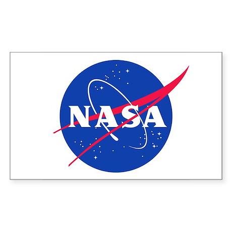 NASA Sticker (Rectangle)