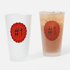 Number One Drinking Glass