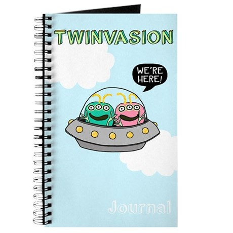 TWINVASION We're Here! Journal for Twins