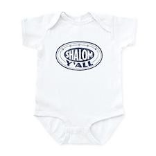Shalom Y'all Retro - Distress Infant Bodysuit