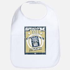 Shalom Y'all BBQ Matzo Balls Bib