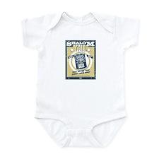 Shalom Y'all BBQ Matzo Balls Infant Bodysuit