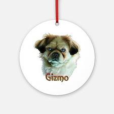 Gizmo- Shih Tzu Ornament (Round)