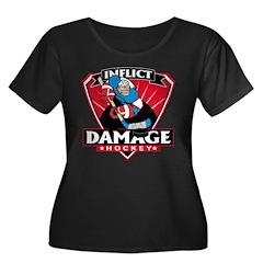 Inflict Damage Hockey T