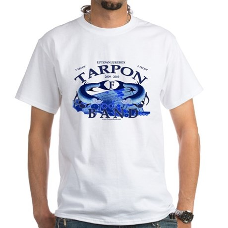 Tarpon Band White T-Shirt