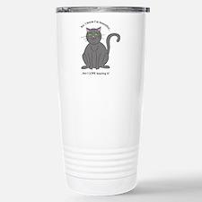 Pretty Kitty Cat Travel Mug