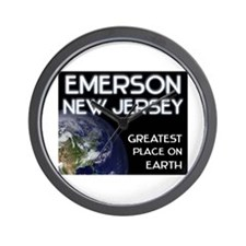 emerson new jersey - greatest place on earth Wall