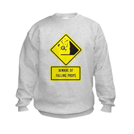 Beware! Kids Sweatshirt