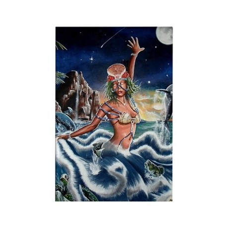 NEW !!!! THE ORISHA SERIES Y Rectangle Magnet (100