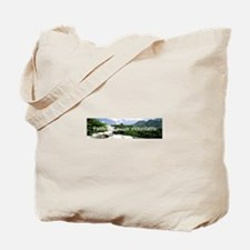 Faith will move mountains Tote Bag