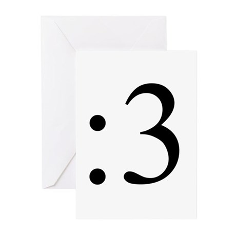 :3 Greeting Cards (Pk of 10)