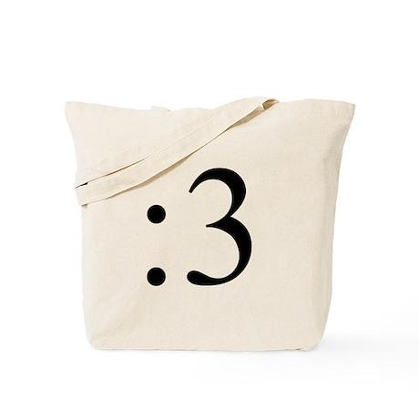 :3 Tote Bag