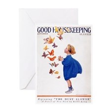 card_child_butterfly Greeting Cards