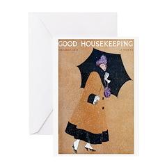 card_fashion_gold Greeting Cards