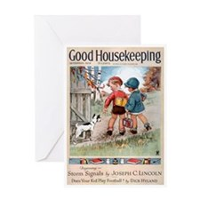 card_child_dog Greeting Cards